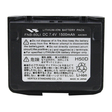 YAESU FNB-80Li Rechargeable Li-ion battery for Vertex YAESU VX7R VX-5 VX-5R VX-5R VX-6R VX-6E VX-7R VXA-700 VXA-7 radio 1500mAh