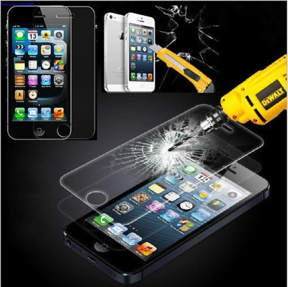 Premium Tempered Glass for font b iPhone b font X 8 4 4S 5 5S SE