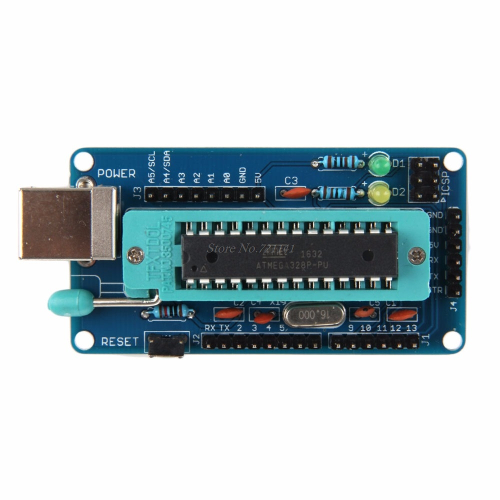 ATmega328P Development Board For UNO R3 Bootloader Project DIY