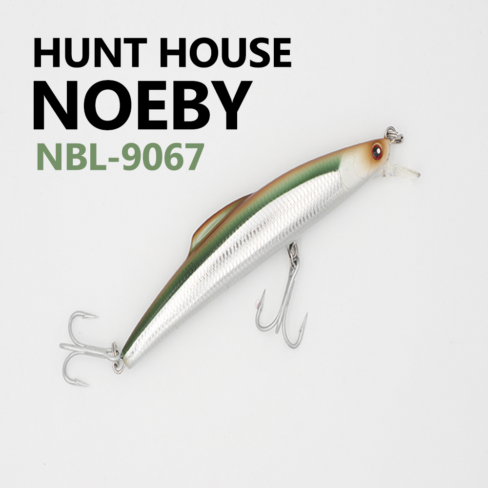 Noeby 1 Pcs 16/14cm 60/32g minnow Bait Fishing Lures With VMC Hooks Minnow Bass Fishing Lures Artificial Bait Hunt house allblue new jerkbait professional 100dr fishing lure 100mm 15 8g suspend wobbler minnow depth 2 3m bass pike bait mustad hooks