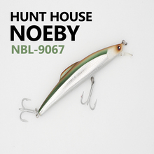 Noeby 1 Pcs 16/14cm 60/32g minnow Bait Fishing Lures With VMC Hooks Minnow Bass Fishing Lures Artificial Bait Hunt house