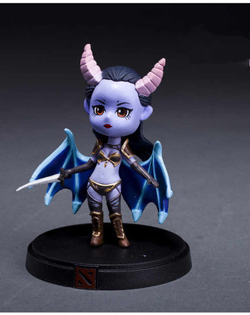 Dota 2 เกมรูป SLARK TINY Doom Boxed PVC Action Figures Collection DOTA2 ของเล่น