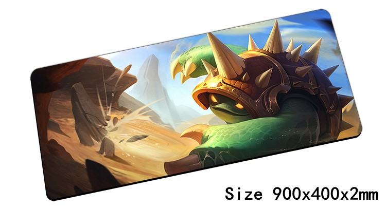 Popular Rammus mouse pad 900x400mm pad mouse lol notbook computer mousepad Armordillo gaming padmouse gamer laptop
