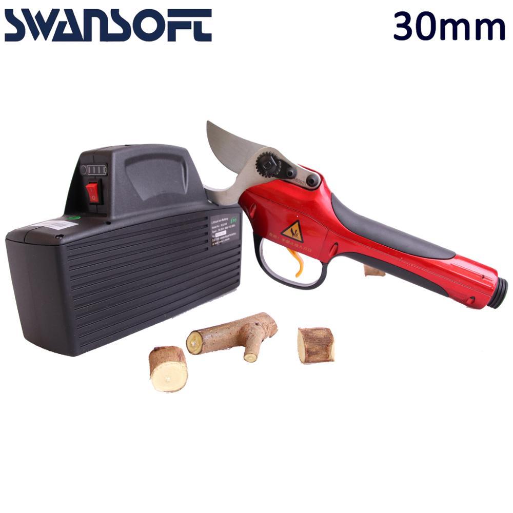 електрически ножици за подрязване - Градински инструменти - Снимка 3