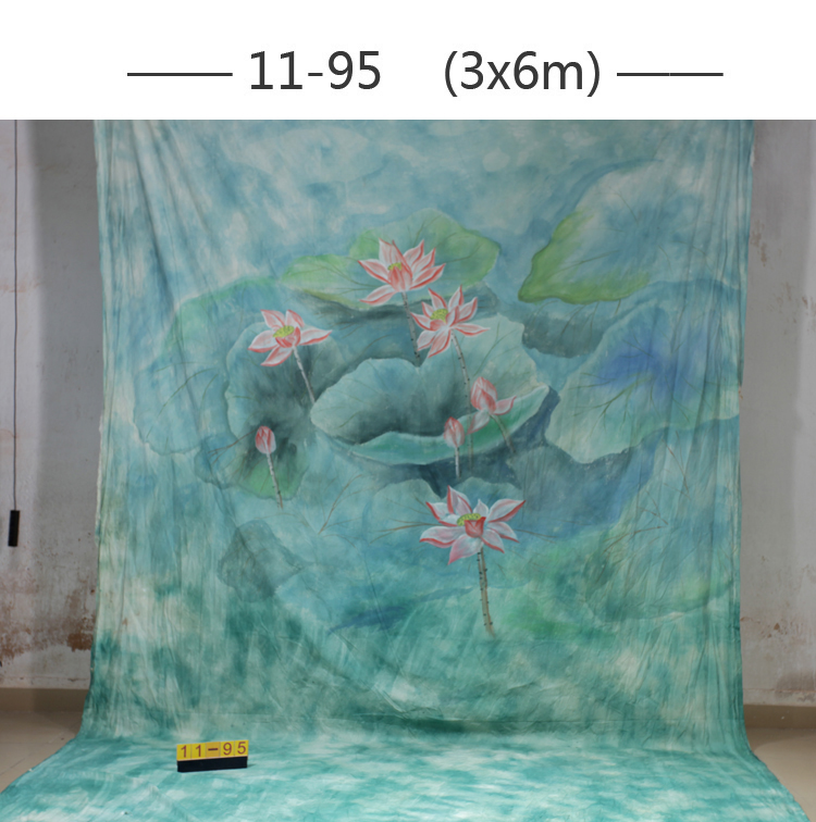 ФОТО 2016 10*20ft Hand Painted cloth photography background wedding,toile de fond studio photo 1195, muslin scenic photo backdrops