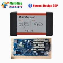 Nuevo Diseño Multidiag pro Sola Placa PCB TCS PRO 2014. R2 Keygen + Bluetooth TCS PRO + envío libre