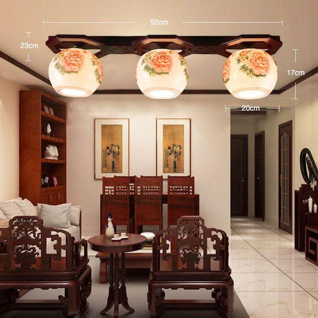 Kreative Knstlerische Keramik Deckenleuchte Wohnzimmer Persnlichkeit Entenschnabel Lampenschirm Holz Decke Leuchten Esszimmer