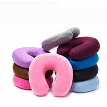 Car space memory cotton 100% polyurethane material U-shaped neck protection pillow car interior protection and maintenance