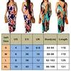 2019 Newest Hot Women's Summer Boho Floral Long Maxi Evening Party Beach Dress Floral Sleeveless V Neck Sundress 4