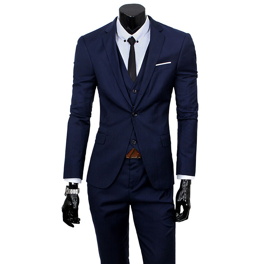 2016 new men suits one buckle brand suits jacket formal dress men suit set men wedding. Black Bedroom Furniture Sets. Home Design Ideas