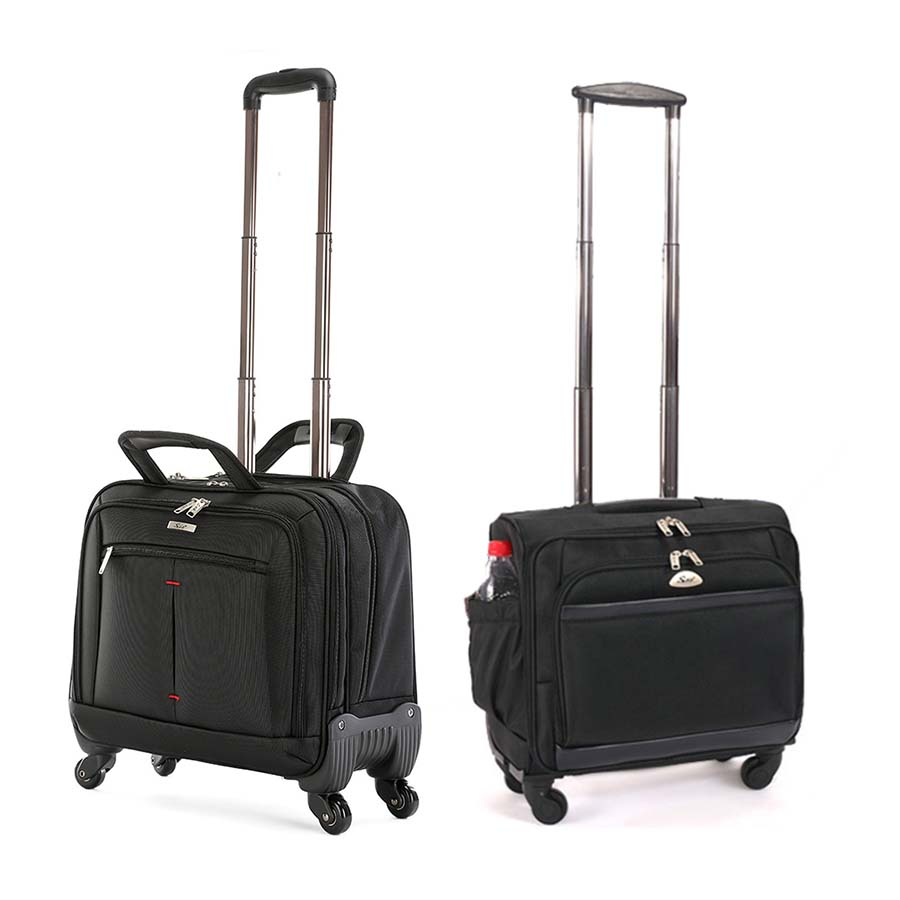 Us 90 88 36 Off Letrend Business Computer Rolling Luggage Spinner Men Suitcase Wheels 18 Inch Carry On Trolley Travel Bags Laptop Bag In Ons