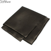 KiWarm 1mx1m 3K 200gsm Carbon Fiber Cloth 0 28mm Thickness Twill Woven Carbon Fabric For Commercial