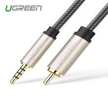 Ugreen AV132 xiaomi ТВ коаксиальный аудио кабель для подключения цифровых аудио линейный усилитель 3.5 очередь RCA