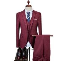 2017 новое поступление высокое качество хлопка модные костюмы Для мужчин, Для мужчин свадебные адрес повседневный комплект Для мужчин, плюс-р...