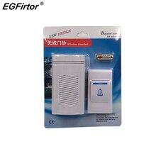 Wireless Doorbell Gate Alarm Doorbell Stable Sensitivity Sma