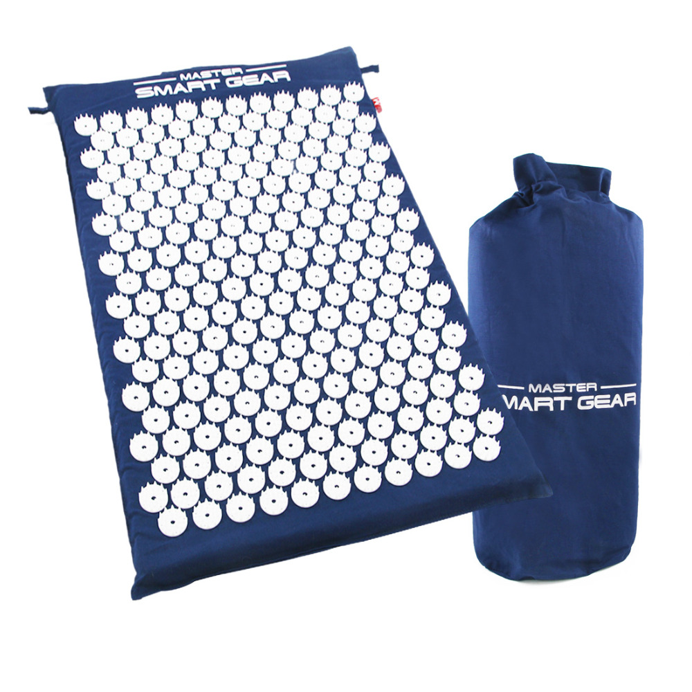 Yoga Mat Back Body Massage Relieve Stress Tension Pain
