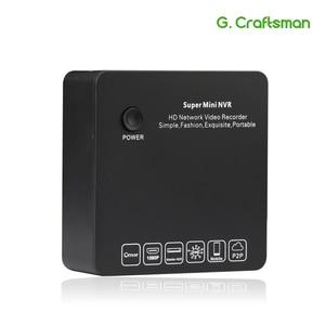 Image 1 - G.Ccraftsman 9ch 2MP H.265 NVR Super Mini Size Network Video Recorder 8ch 1080P E SATA Recording IP Camera Onvif P2P Security