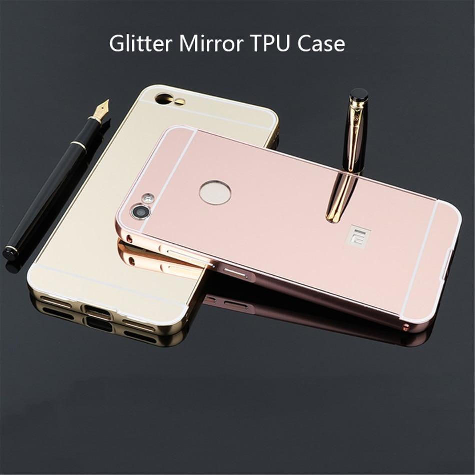 Luxury For Xiaomi Mi A1 A2 Redmi 5 Plus 6 6A 4X S2 Redmi Note 5 6 Pro Note  4X Glitter Mirror TPU Case (3)