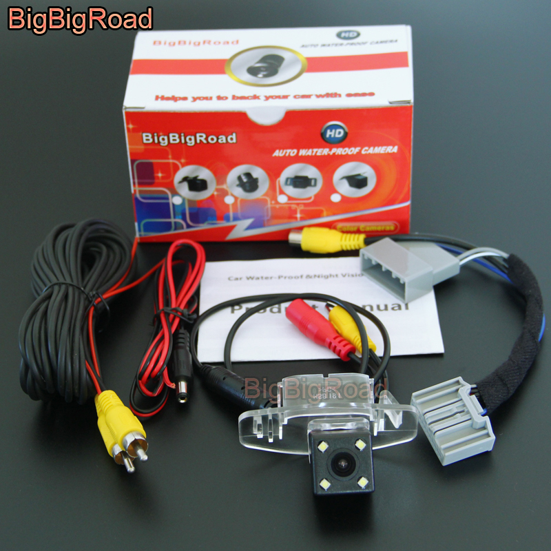 BigBigRoad For Honda Accord MK9 9 Generation 2.4L 2012 2013 2014 2015 Car Rear View Backup Camera Connect to Original Screen