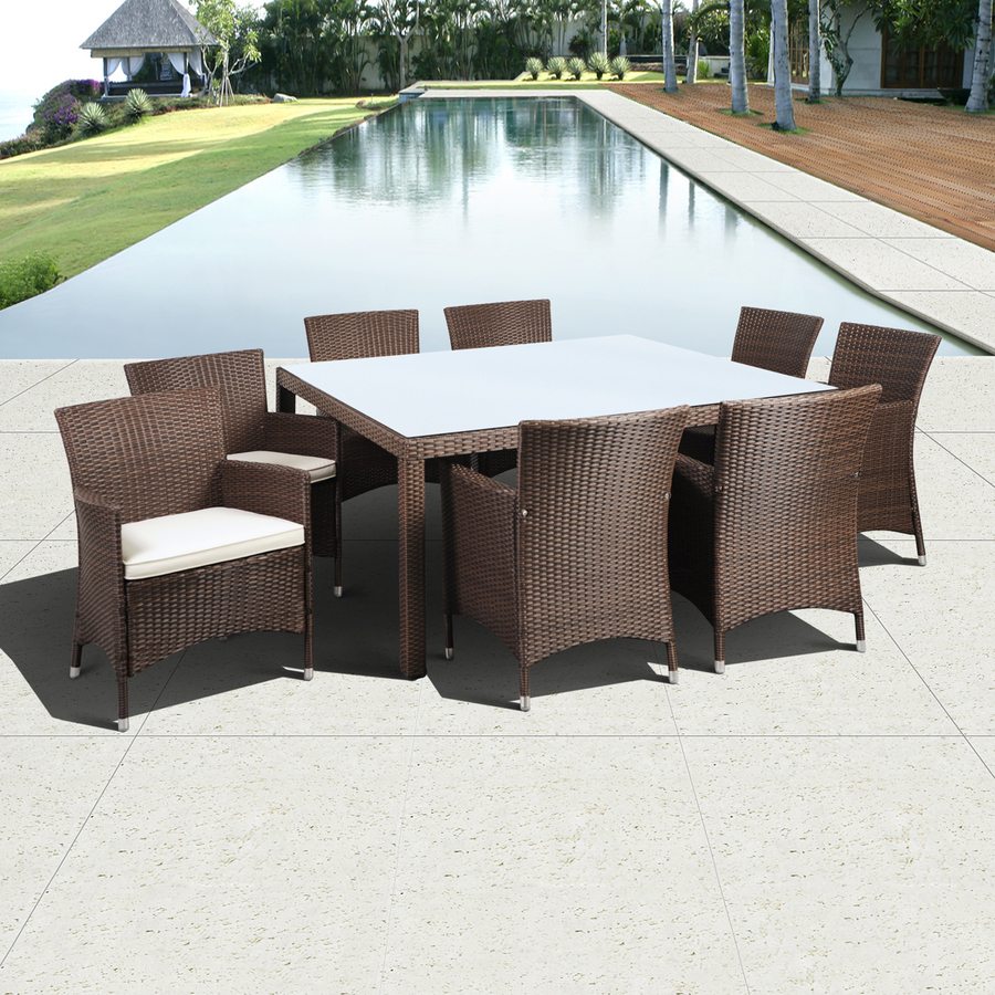 Cheapest Garden Table And Chair Sets: 2017 Newest Cheap Resin Rattan Modern Restaurant Dining