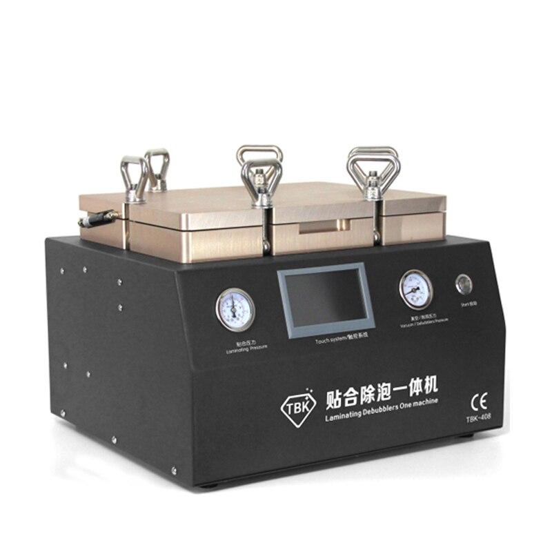 NEW Vacuum Laminating machine air bubble remover 2 in 1 touch screen repair machine 12