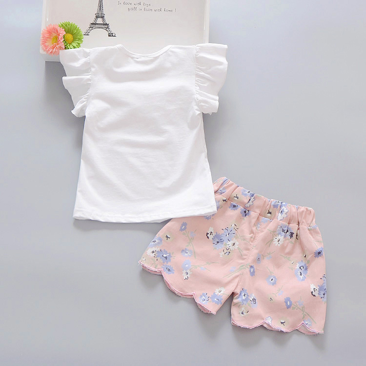 c2f2e5c6a0eb Hurave 2pc Casual Kids Clothing Baby Girls Clothes Sets Summer ...