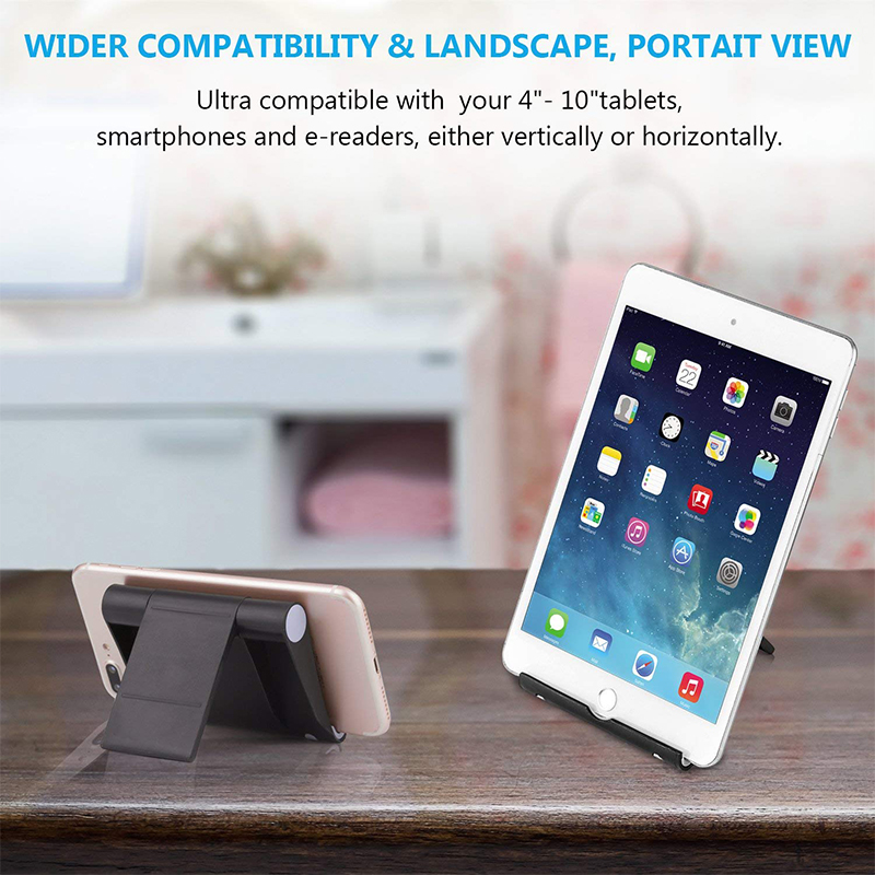 Fimilef Desktop Phone Holder Stand Flexible Folding Mobile Phone Stand General Bracket for iPhone for Xiaomi Cell Phone Tablet (5)
