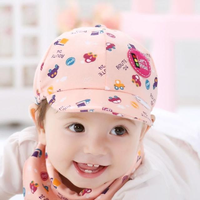 fca80d56514 hat 2018 new born photography kids hats Baby Kid Boy Girl Toddler Infant  Hat Little Car Baseball Cap baby bonnet topi bayi