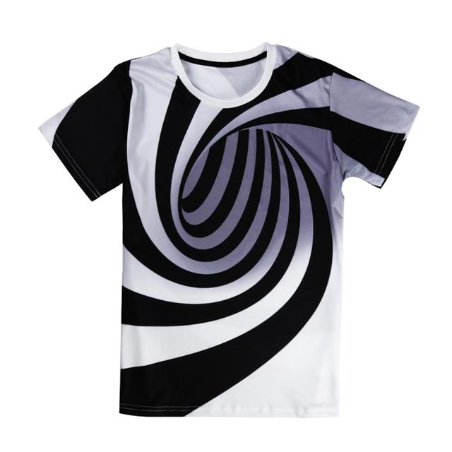 Hypnotic 3D t-shirt for men