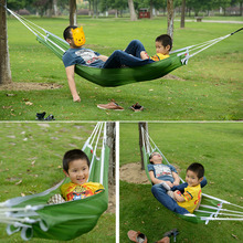 HWPortable Nylon sleeping bag/Hammock Parachute Bed for 2 Persons Travel Camping Outdoor free shipping