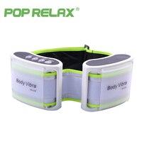 Pop Relax пояс массажный пояс для похудения вибрации тела релаксант инструмент вибро Электрический вибратор здравоохранения Вибрационный мас