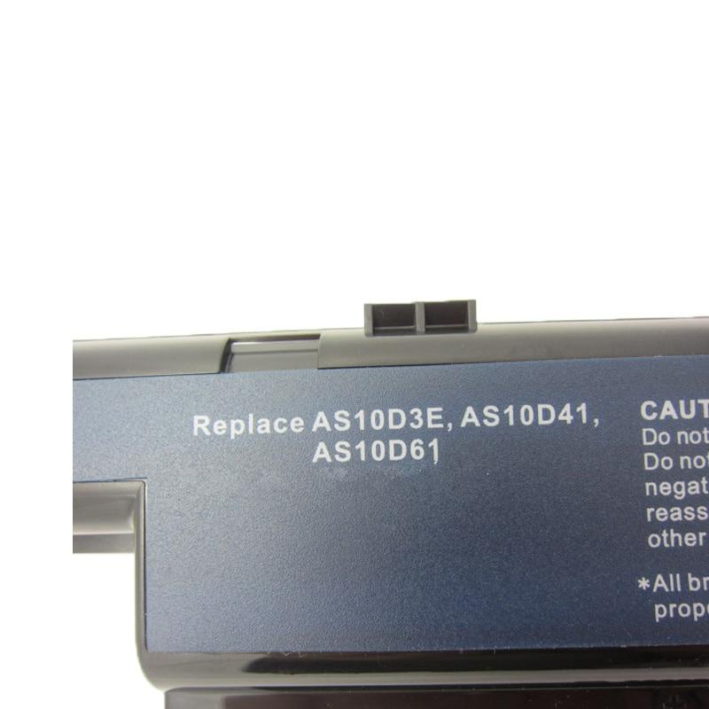 HSW 5200MAH 6cells AS10D31 akkumulátor ACER 4741 5741 5742 5750 - Laptop kiegészítők - Fénykép 4