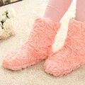 Envío gratis japón y corea del sur nuevo Indoor Shoes sin cordones zapatos, casa felpa zapatillas gruesas