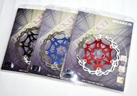 1PCS 160/180/203mm Bicycle Brake Floating Disc Rotors TAIWAN Brakco DR06 City Bike Brake Disc Rotors Red Blue Black 3 colors