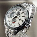 4 вида цветов Новый CURREN Дата Японии MOVT Полный нержавеющая сталь наручные часы погружения спортивный стиль Военная Униформа мужские часы - фото