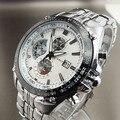 4 cores novo CURREN data japão MOVT completa aço inoxidável relógio de pulso DIVE SPORTS estilo militar relógios dos homens