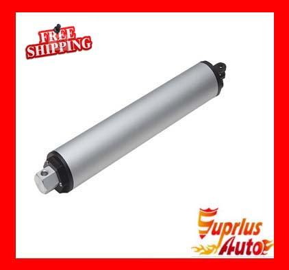 US $55 99 7% OFF|100mm / 4in Travel, 200 N / 20KGS Tubular Design, 45mm /  sec High Speed Inline 12v Linear Actuator Free Shipping-in DC Motor from