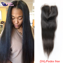 Wet and Wavy Closure Cheap Malaysian Straight Closure Human Hair Lace Closure 4×4 Inch Malaysian Virgin Hair Lace Closure