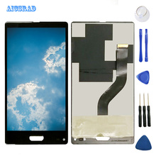 AICSRAD LCD Display For ULEFONE MIX Touch Screen Panel Assembly with frame Replacement Screen ulefonemix Phone +tools