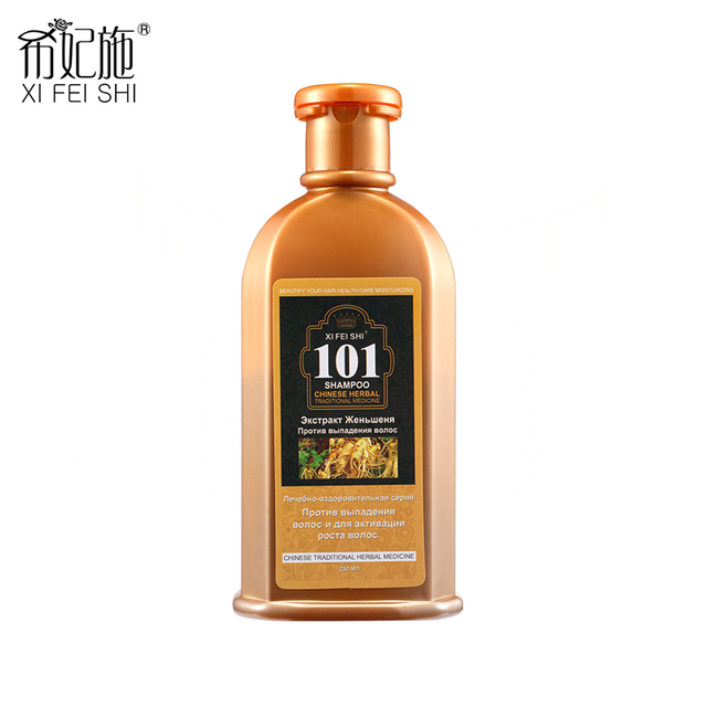2016 New Professional Hair Care 101 Ginseng Shampoo For Anti Hair Loss Moisturizing Oil Control And Make Hair Growth Fast KF031