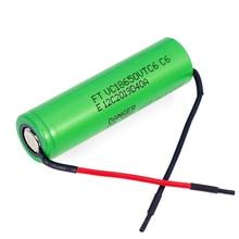6pcs/lot VariCore VTC6 3.7V 3000mAh 18650 Li-ion Battery 20A Discharge VC18650VTC6 Tools e-cigarette batteries+DIY Line цены онлайн