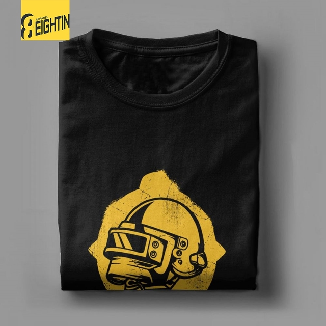 PUBG Pan Helmet T Shirt