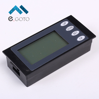 Blue Digital LCD Display Meter Voltmeter Ammeter Power Meter AC 80 260V 20A 4400W