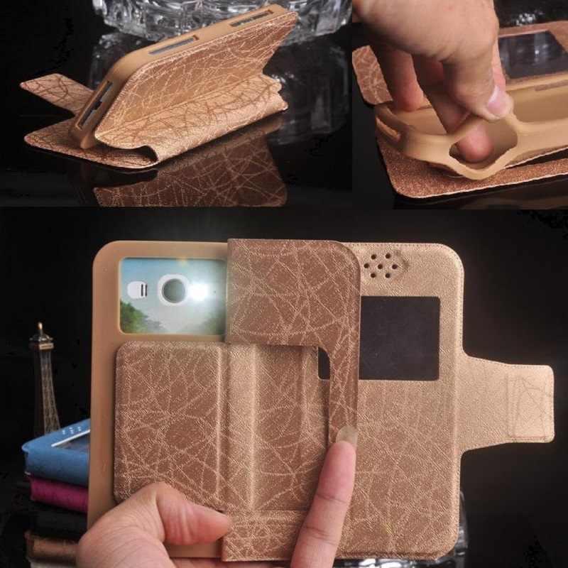 2019 Baru Fashion Mewah Flip Kulit Gel Silika Lembut Ponsel Case untuk Dexp Ixion ES550 Jiwa 3 Pro Gratis Pengiriman