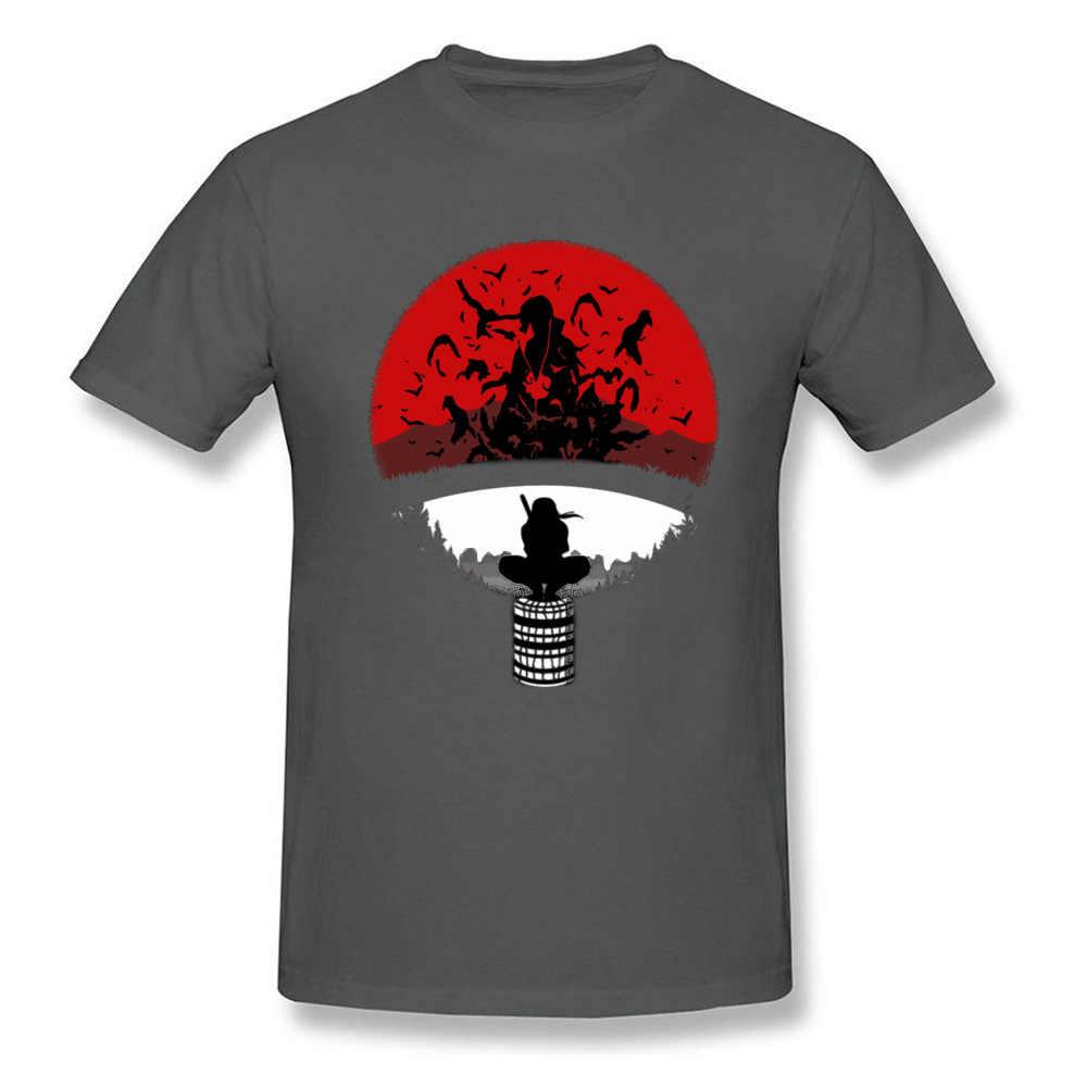 イタチうちは Tシャツメンズ忍者 Tシャツナルトブラザー Tシャツアメージング人気のロゴトップス黒 Tシャツ綿 100% の衣類日本