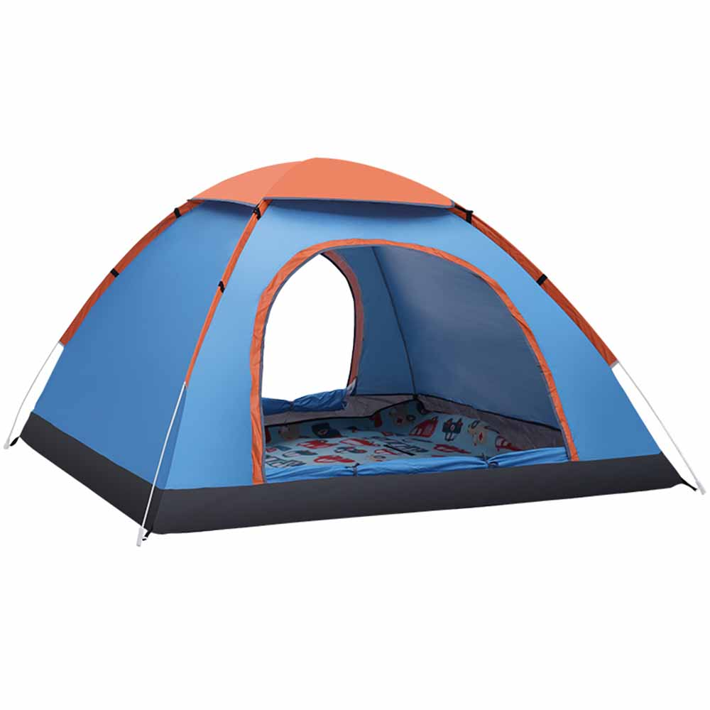 3-4 Personne Utiliser Automatique Ouvert Tente de Famille En Plein Air Pop Up Anti-UV Tentes De Plage Ultra-Léger Pliage Tente Touristique Soleil ombre