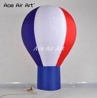 Можно добавить ваш текст Привлекательный круглый стоя гигантские надувные воздушный шар для рекламы Сделано в Китае
