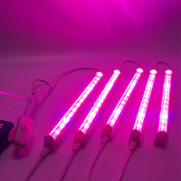 5Pcs Set LED T5 Plant Growth Lights Fill Light Garden Greenhouses Lighting