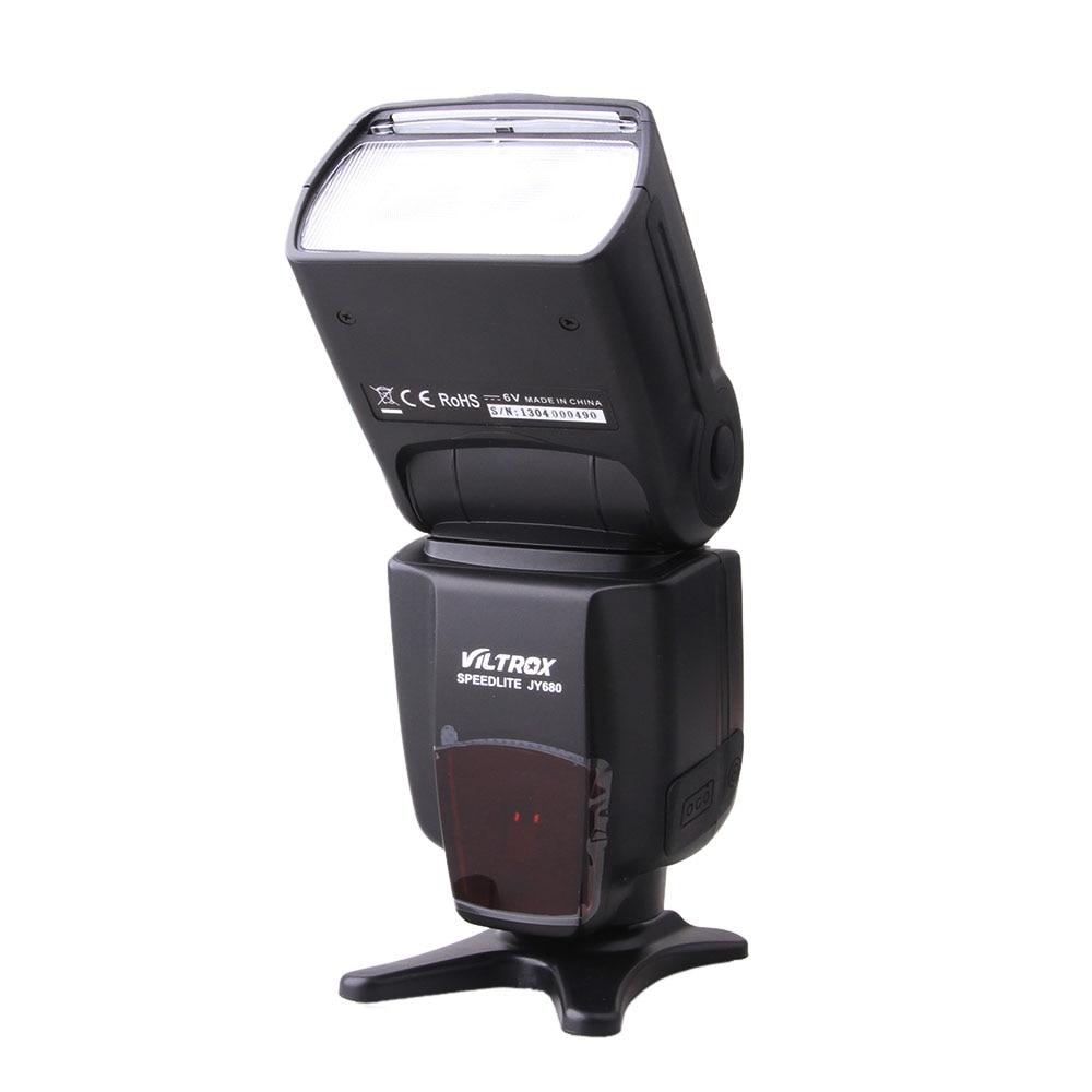 VILTROX JY-680 Flash Speedlite Speedlight For canon nikon 600D 1000D 5D 5D MARK II 1D D800 D200 genuine meike mk950 flash speedlite speedlight w 2 0 lcd display for canon dslr 4xaa