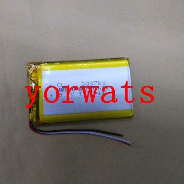 Новинка; Лидер продаж в Перезаряжаемые литий-ионный аккумулятор 3,7 В литий-полимерный аккумулятор 5037593 линия оригинальный road N3 e дорожной навигации HD-X9 X10MP3 GP
